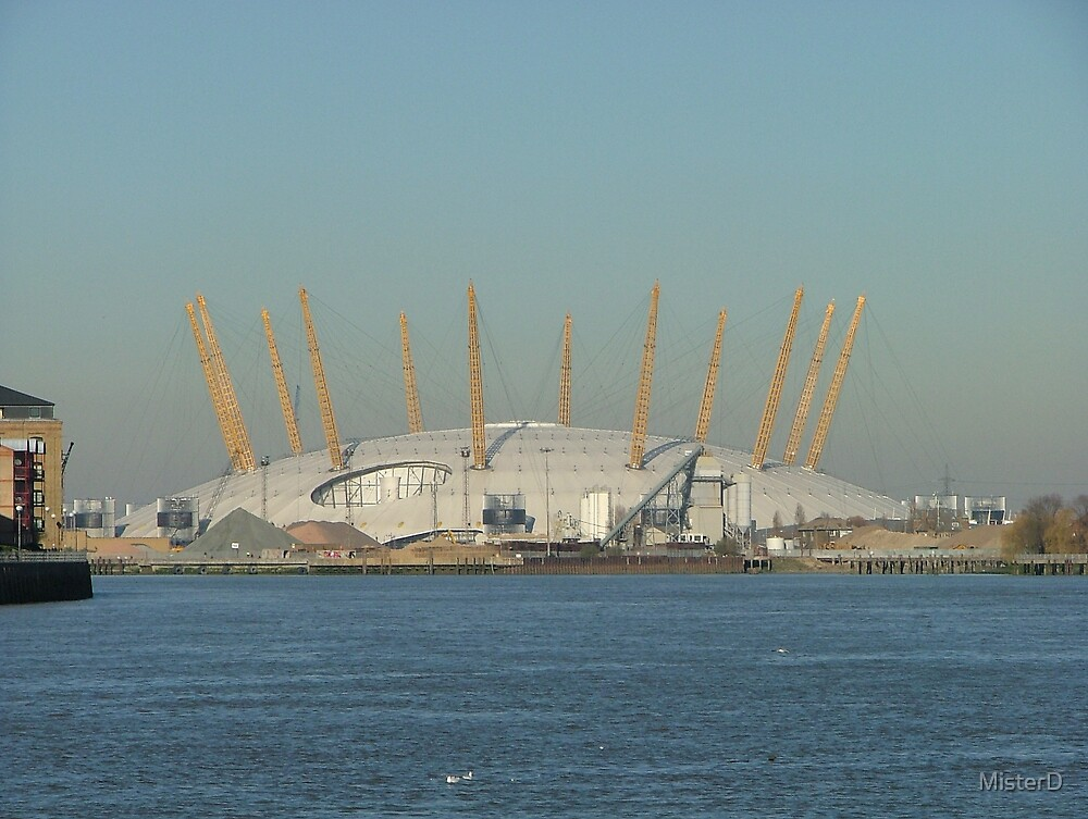 The Millennium Dome (now the O2) Greenwich by MisterD