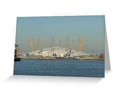 The Millennium Dome (now the O2) Greenwich Greeting Card