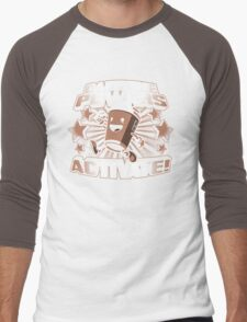 Caffeine Powers... Activate! Men's Baseball ¾ T-Shirt
