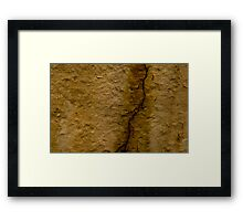 Paint Decay Texture 3 Framed Print