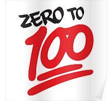 Zero to 100 Poster