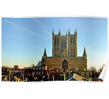 Lincoln Cathedral Poster
