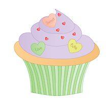 Cupcake No. 10 or Heartcake variation1 by trennea