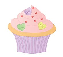 Cupcake No. 11 or Heartcake variation 2 by trennea