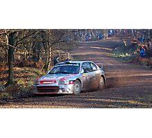 hyundai coupe rally car Photographic Print