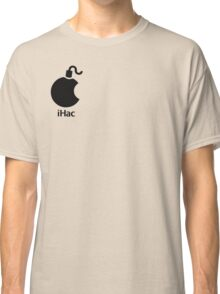 iHac(k) - Black Artwork Classic T-Shirt