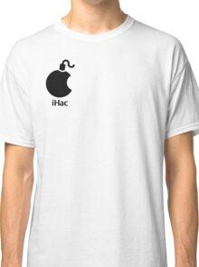 iHac(k) - Black Artwork Classic T-Shirt