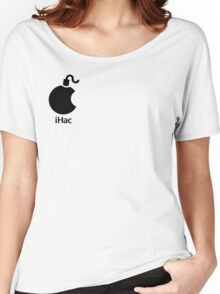 iHac(k) - Black Artwork Women's Relaxed Fit T-Shirt