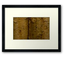 Paint Decay Texture 4 Framed Print
