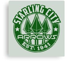 Starling City Arrows V01 Canvas Print