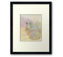 Flowers Two Framed Print