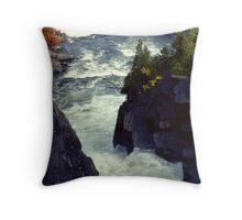 Ragged Falls (2) Throw Pillow