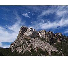 The Majesty of Mount Rushmore Photographic Print