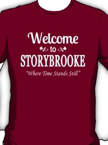 Once Upon A Time in Storybrooke White T-Shirt