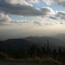 Fog On The Mountain Tops by Sherri Hamilton