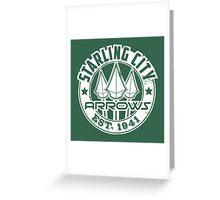 Starling City Arrows Version V02 Greeting Card