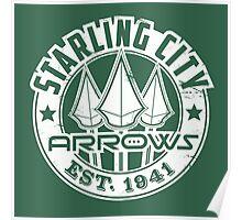 Starling City Arrows Version V02 Poster