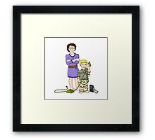 The Weekend Cash Call - The Phone Call Framed Print