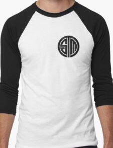 TSM Cloudy Grey Men's Baseball ¾ T-Shirt