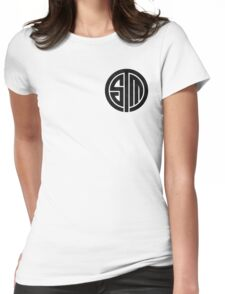 TSM Cloudy Grey Womens Fitted T-Shirt