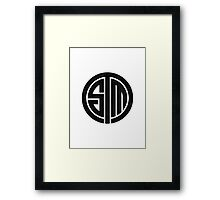 TSM Cloudy Grey Framed Print