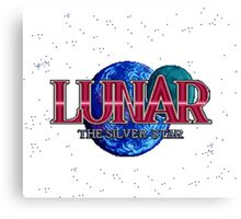 Lunar The Silver Star (Sega CD) Title Screen Canvas Print