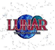 Lunar The Silver Star (Sega CD) Title Screen Photographic Print