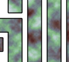 TSM Cloudy Green Sea Sticker