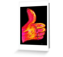 Give it a THUMBS UP! Greeting Card