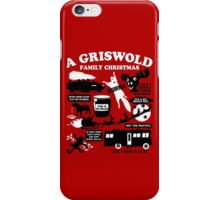 A Griswold Family Christmas Quotes iPhone Case/Skin