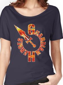 Guardian Heroes (Sega Saturn) Title Screen Women's Relaxed Fit T-Shirt