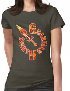 Guardian Heroes (Sega Saturn) Title Screen Womens Fitted T-Shirt