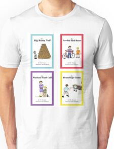 Words from Daddy's Mouth - Books 1 to 4 Unisex T-Shirt