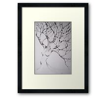 women tree Framed Print