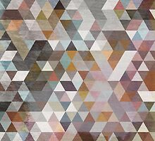 Triangles Pastel by franciscovalle