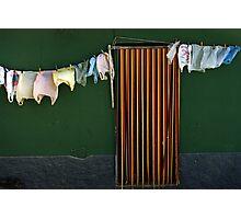 Bag Wash Photographic Print