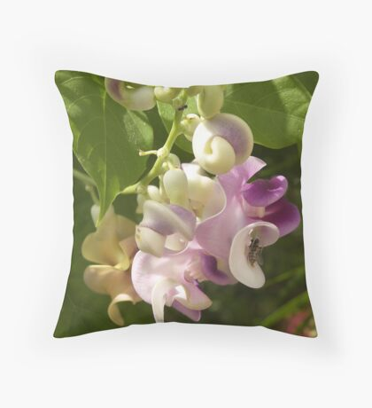 Come Into My Parlour Throw Pillow