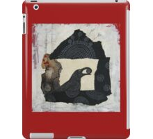 """Raven's Treasure"", Mixed media Collage iPad Case/Skin"