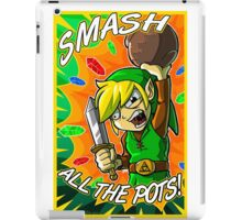 Smash All the Pots! iPad Case/Skin