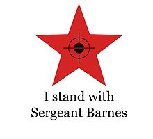 I Stand With Sergeant Barnes by winter-soldierr
