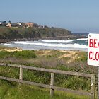 Beach Closed by Laura Moore