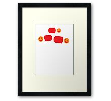 HAPPY PILLS! Framed Print