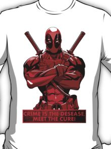 Deadpool - meet the cure T-Shirt