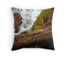 rush of bubbles Throw Pillow