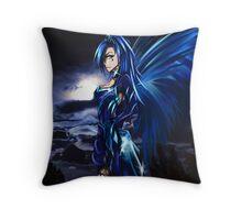 Luna Dreaming Throw Pillow