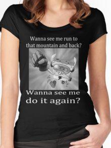 Spongebob Quickster Women's Fitted Scoop T-Shirt