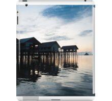 View of Koh Panyee and Phang Nga Bay at dawn iPad Case/Skin