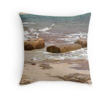 Flock Of Seagulls Throw Pillow