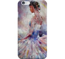 Ballet Dancer Contemplating iPhone Case/Skin