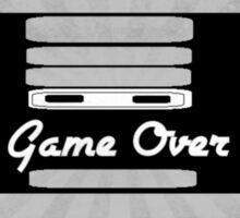 Nintendo Controller Game Over Sticker